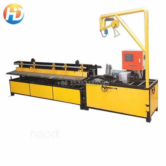 PLC Controlled Semi Automatic Chain Link Fence Machine