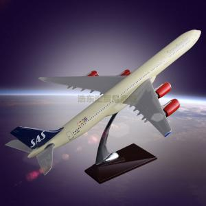 Wholesale gift: The Model of Airplane for Sale OEM Airbus 340 SAS Airlines Model Resin Crafts Customized Gift