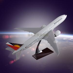 Wholesale plane model: Plane Model Scale Model Aircraft Boeing 777 Philippine Airlines for Business Gift Souveni