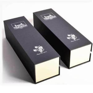 Wholesale Wine Boxes: Flip Top Cardboard Single Bottle Wine Boxes