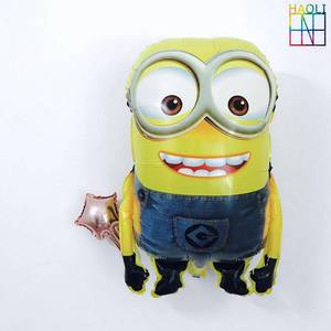 Wholesale balloon: Kids Toy Cartoon Character Big Size Super Gaint Minion Helium Aluminium Foil Balloon