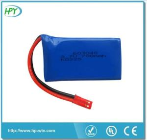 Wholesale shenzhen battery: Shenzhen Capacity Custom Accu 3.7v 780mah Lipo Battery 603048 for RC Model