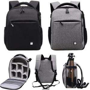 Wholesale backpack: Large Camera Waterproof Shoulder Bag Backpack Case for Canon Nikon Sony DSLR SLR