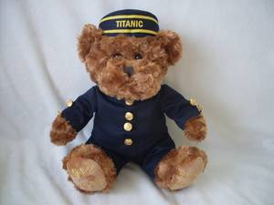 Wholesale Stuffed & Plush Toys: Titanic Teddy Bear