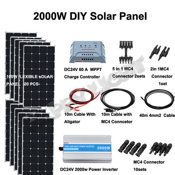Sell 50W-2000W Home use off-grid Solar energy system