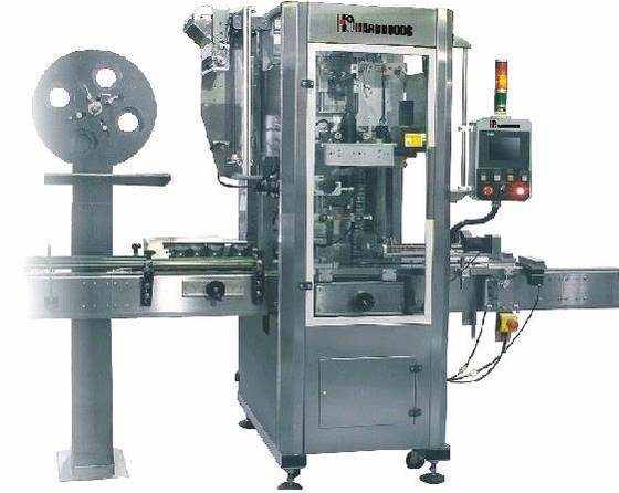 Sell beverage sleeve labeling machine
