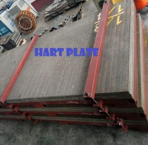 Wholesale ball mill liner: Complex Carbide Overlay Plate (CCO Plate)