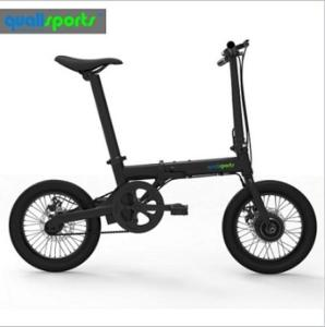 Wholesale 2017electric bike: Inner 3 Speed 2017 Chinese High Quality Electric Ebike with Pedals 16inch Folding Electric Bike CE