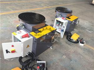 Wholesale siemens cable: Automatic Welding Positioners Tilting Rotating 2 Axis Turntable