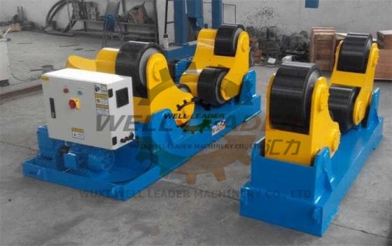 Self Alignment Heavy Duty Rotator Roller Bed Automatic Adjustment
