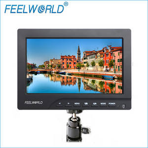 Wholesale hd lcd monitor: 7 Inch HD Field LCD Monitor HDMI Input with Focus Assist Function for Jib Crane and Gimbals