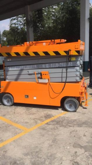 Sell self propelled hydraulic scissor lift platform