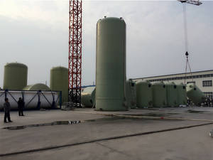 Wholesale fuel cell system: GRP Storage Tank