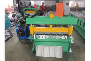 Wholesale roof panel roll forming: Wall & Roof Panel Steel Roll Forming Machine