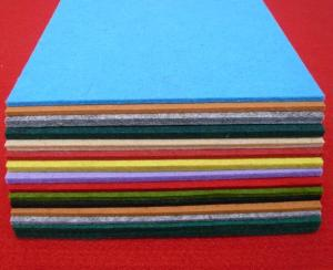 Wholesale polyester non woven: 100% Polyester Color Non Woven Fabrics Felt Fabric with High Quality
