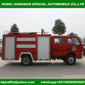 Wholesale fire truck: Chinese Supplier EURO2 EURO3 Emission 2Tons Small Fire Tender Truck