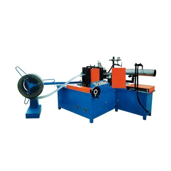 Perforated Round Hole or Truss Hole Oil Sand Control Tube Welding Machine