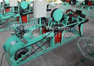 Wholesale barbed wire: 3'',4'' and 5'' CS-C China Barbed Wire Machine On Sale