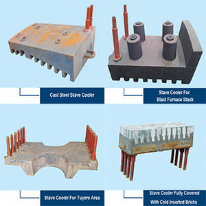 Wholesale Mining and Metallurgy Projects: Blast Furnace Cast Iron Cooling Stave,Stave Cooler