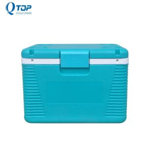 Wholesale ice cooler boxes: QTOP Wholesale 50L Laboratory Insulin Cooler Ice Box