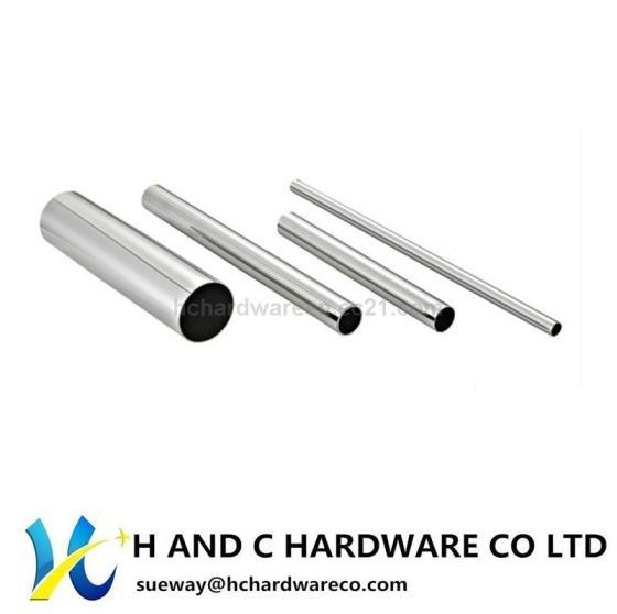 Chrome Steel Wardrobe Round Tube