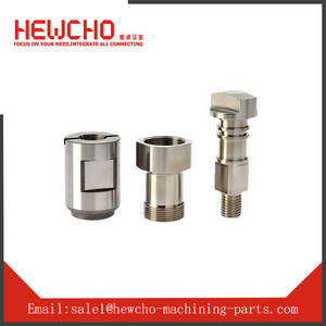 Wholesale precision cnc parts: Precision CNC Turning Part Stainless Steel Male Screw