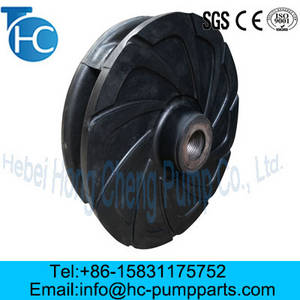 Wholesale slurry pump impellers: Slurry Pump Parts Wear Resistance Impellers