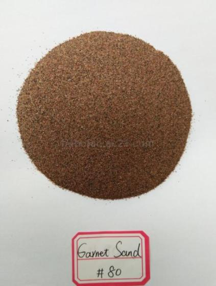80 Mesh Grain Waterjet Abrasive Garnet Sand for CNC Sand Cutting Use