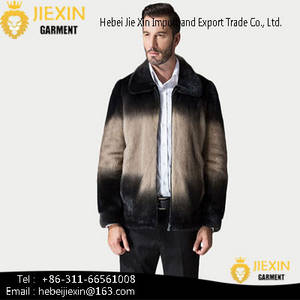 Wholesale men's jacket: New Style  High Quality Hot Sale Winter Mens Faux Fur Coat Jacket
