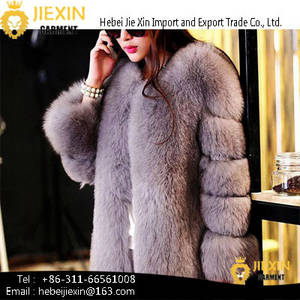 Wholesale faux fur: Women Coats Winter Ombre Clothing Ladies Faux Fur Coats