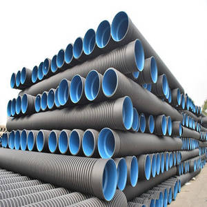 Wholesale hdpe drainage pipe: High Quality HDPE Double Wall Corrugated Pipe for Drainage