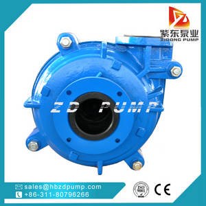 Wholesale oil stove: Single Stage Rubber Liner Slurry Pump