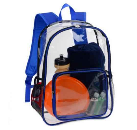 Sell fashion new style transparent backpack
