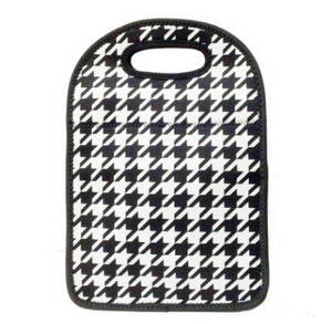 Wholesale lunch bag: Office Lady Printed Neoprene Lunch Bag