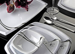 Wholesale dinner set: Modern Melamine Dinner Set