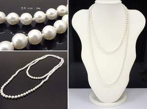 Wholesale fashion costume jewelry: Women Doublestrand Vintage Pearl Beaded Necklace, Double Strand Pearl, Costume Jewelry Wholesale