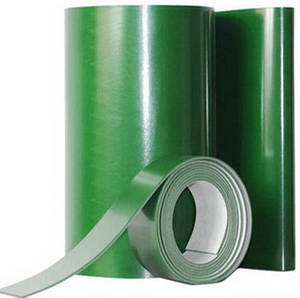 Wholesale pvc belt: 2mm Ply Green Flat PVC Conveyor Belts for Electronic/Package Factory/Distributor
