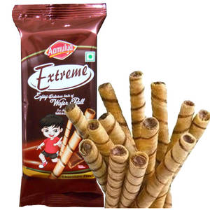 Wholesale roll: Chocolate Wafer Rolls / Wafer Sticks