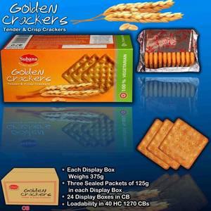 Wholesale golden: Golden Cream Crackers / Biscuits