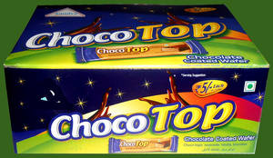 Wholesale coating: Choco Top Coated Wafers
