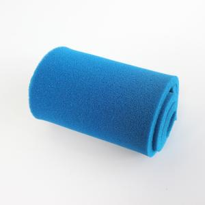Wholesale silicone sponge rubber sheet: Blue Open Cell 8mm Silicone Sponge Rubber Sheet/Roll for Ironing Table