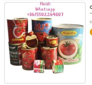 Wholesale can opener: 28-30% Brix Canned Tomato Paste 4.5kgs Hard Open