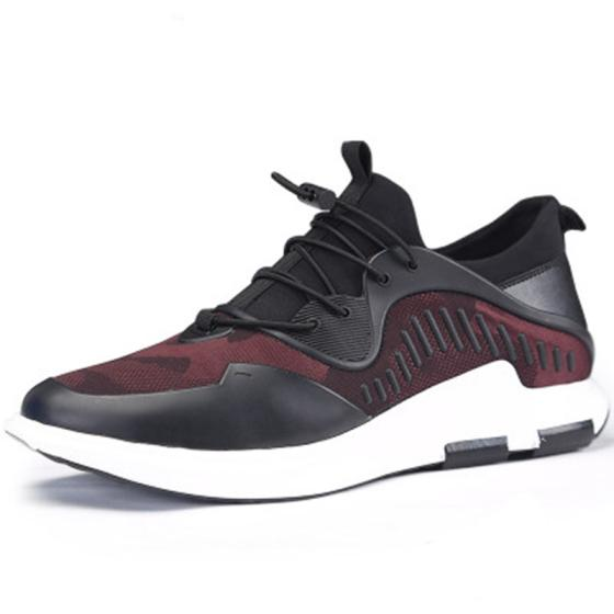 New 6 CM Height Increasing Men's Casual Fashion Sports Shoes with Higher Insole