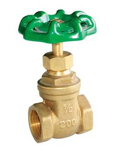 Wholesale brass gate valve: Rass Gate Valve with Brass Body and Aluminum Handle
