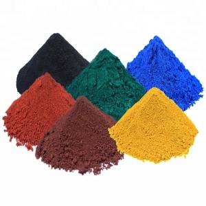 Wholesale pigment blacks: High Quality Iron Oxide Red/ Black/ Green/ Yellow Pigment for Color