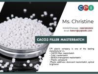 Calcium Carbonate Filler Masterbatch Polypropylene for PP Woven Bag, Wholesale Price