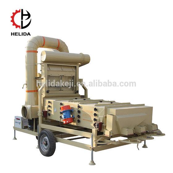 Chai Seed Chickpea Cocoa Bean Grain Cleaning Machine