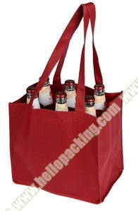 Wholesale non woven bags: Reusable & Carriable Non-Woven WineBottle Bags