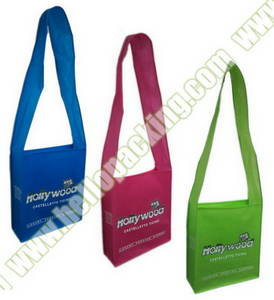 Wholesale handle: Long Shoulder Handle NonWoven Messenger Bag for Postman
