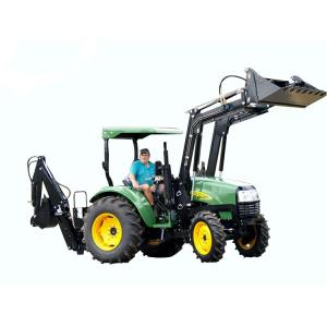 Wholesale farm tire: 4WD 50hp Farm Tractor with Front Loader